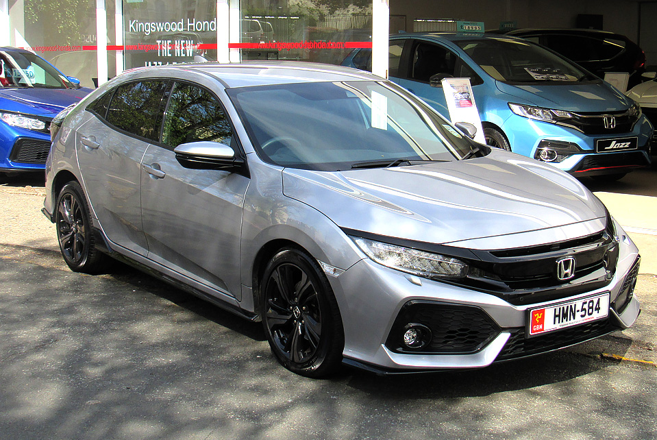 2017 Honda Civic 1.5 Turbo Sport