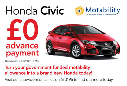 Honda Civic Motability