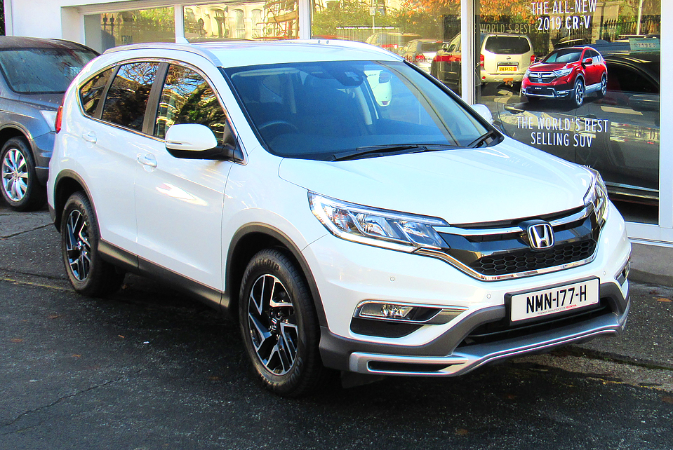 2017 Honda CR-V 2.0 I-VTEC SE+ 4WD