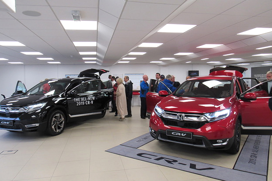The Brand-New Honda CR-V