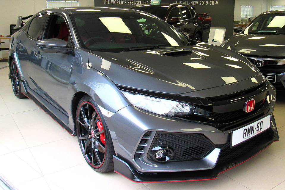 2018 Honda Civic 2.0T I-VTEC TYPE R GT 320PS (New Model)