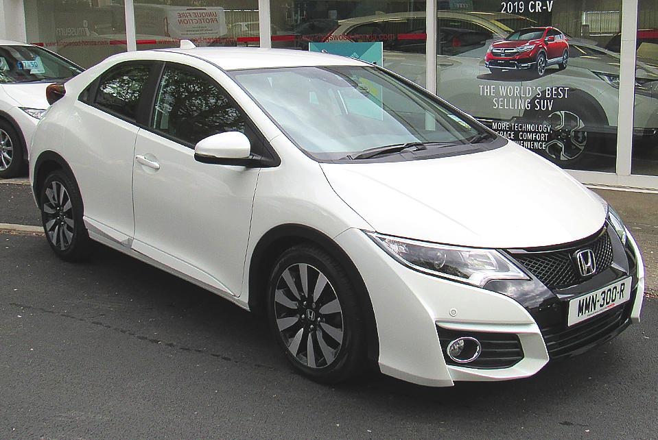 2017 Honda Civic 1.8 I-VTEC SE+ Navi (Facelift)