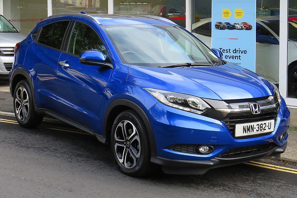 2018 Honda HR-V 1.6 I-DTEC EX