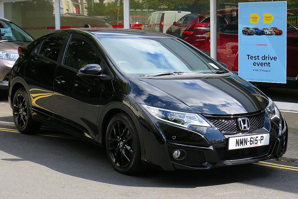 2016 Honda Civic 1.6 I-DTEC SPORT