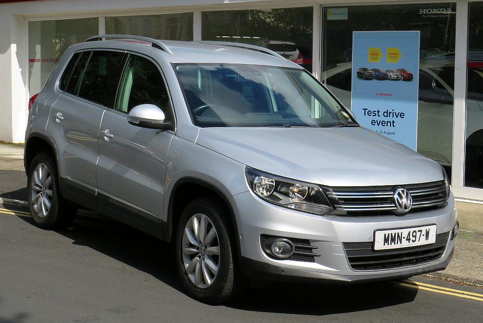 2014 Volkswagen Tiguan 2.0 TDI Match 4 Motion