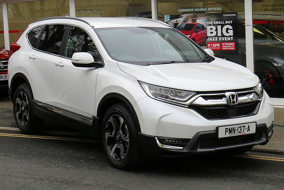 2019 Honda CR-V 1.5 TURBO SR 4WD