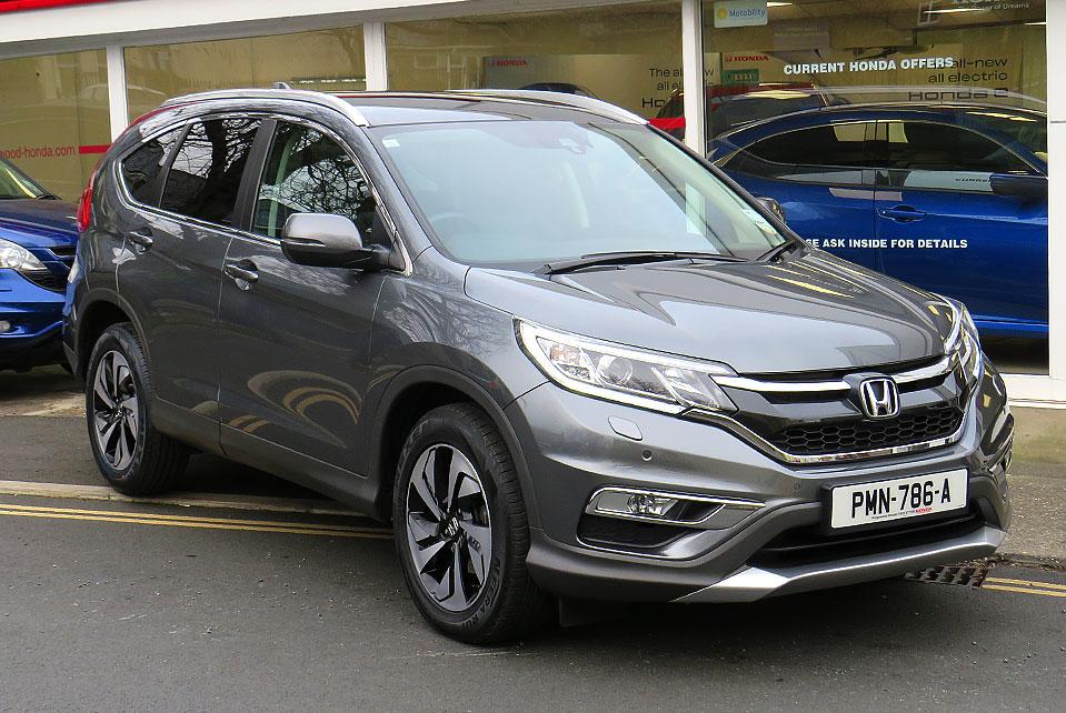 2015 Honda CR-V 2.0 I-VTEC EX 4WD