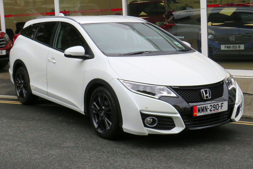 2016 Honda Civic 1.8 I-VTEC EX+ TOURER