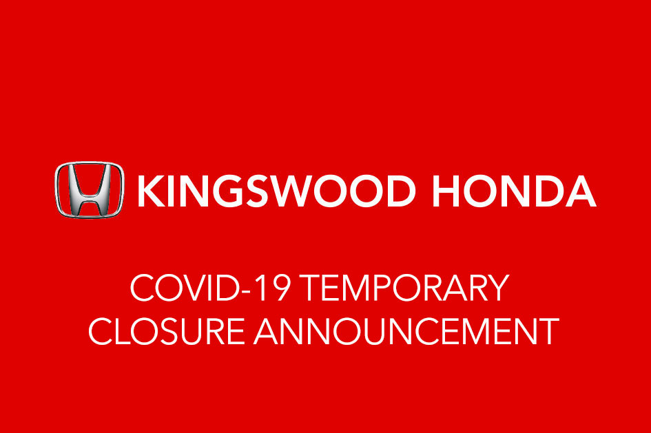 COVID-19 TEMPORARY CLOSURE ANNOUNCEMENT