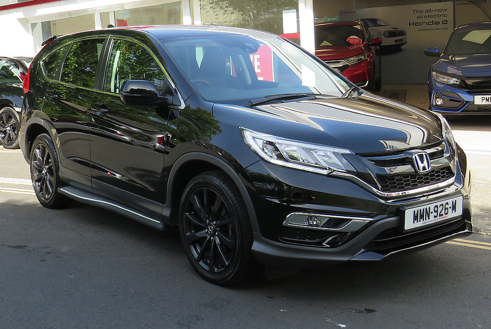 2016 Honda CR-V 2.0 I-VTEC BLACK EDITION AUTO