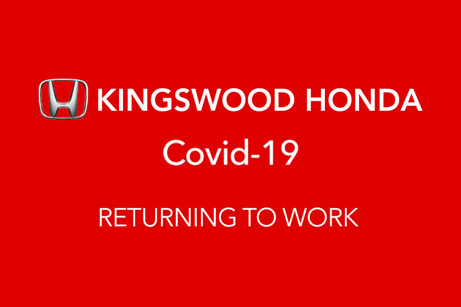 COVID-19 RETURNING TO WORK