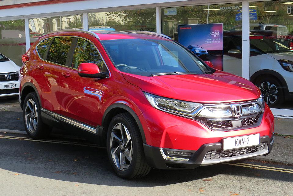 2020 Honda CR-V 1.5 TURBO EX AWD
