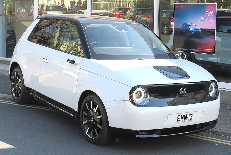 2020 Honda E Advance