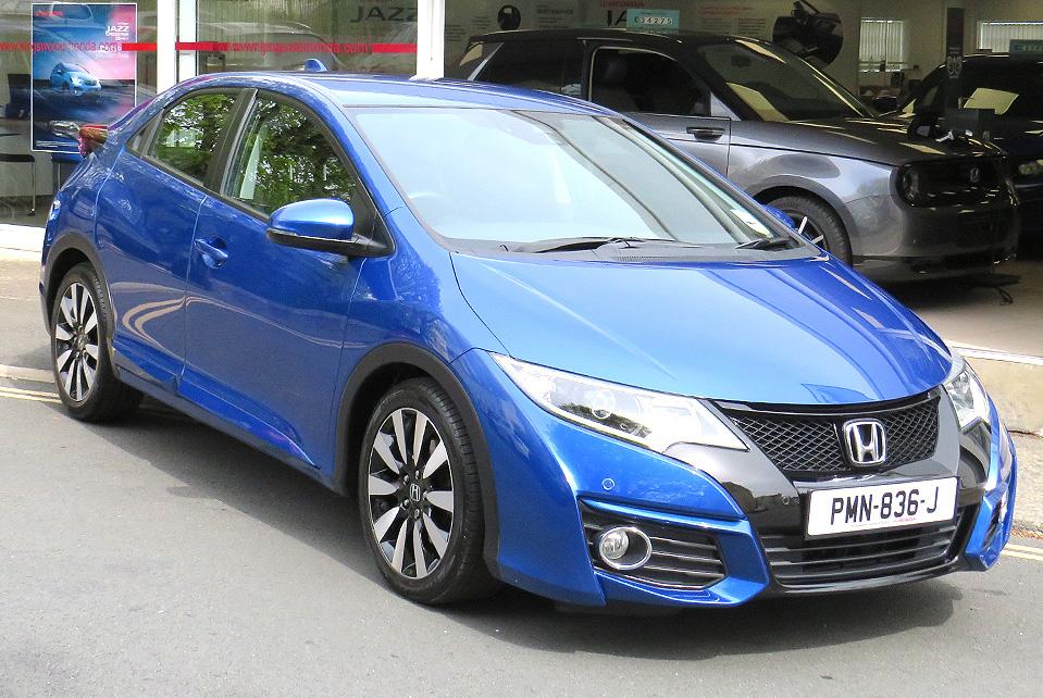 2016 Honda CIVIC 1.8 I-VTEC SE+ NAVI